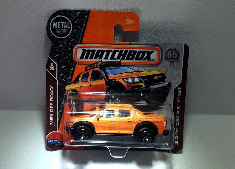 Chevrolet Chevy Colorado Xtreme de 2016 (Matchbox)