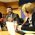 Carlos Sanchez Mato Rommy Arce Europarlamento