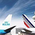 Air france et klm mènent des discussions approfondies avec leurs gouvernements