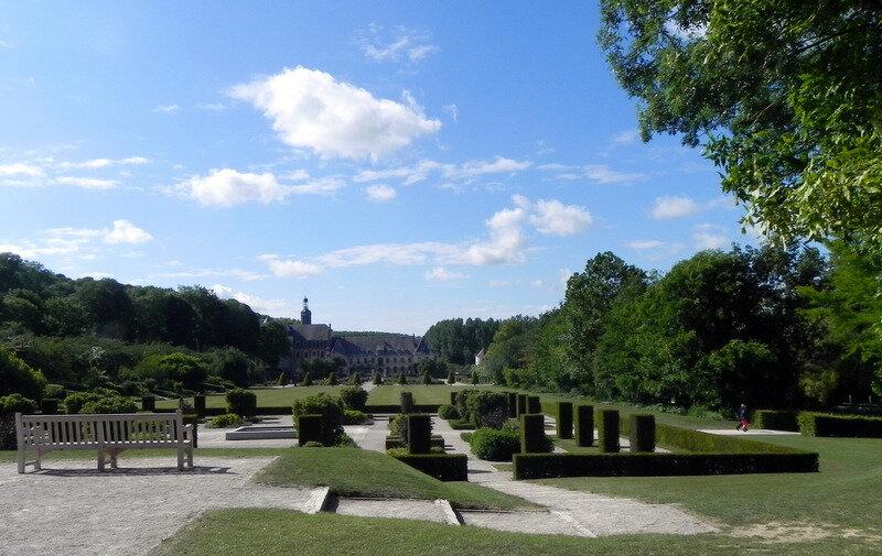 visite des jardins de l'Abbaye de Valloires