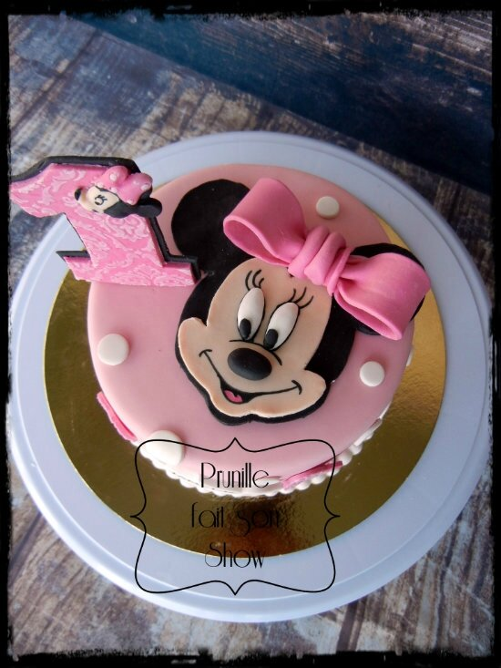 gateau 1 an minnie prunillefee 2