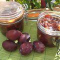 Marmelade de prunes traditionnelle aux noix