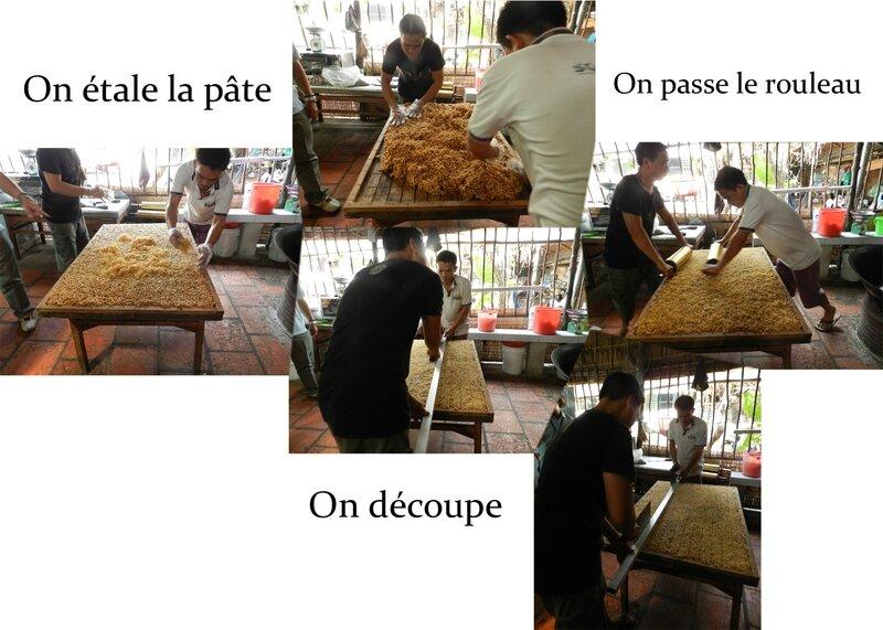Préparation du riz soufflé