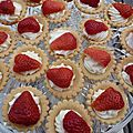 Mini-tartelettes aux fruits rouges