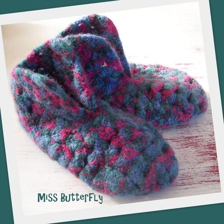 Chaussons -Miss Butterfly