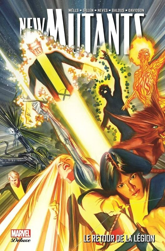 marvel deluxe new mutants 01 le retour de légion