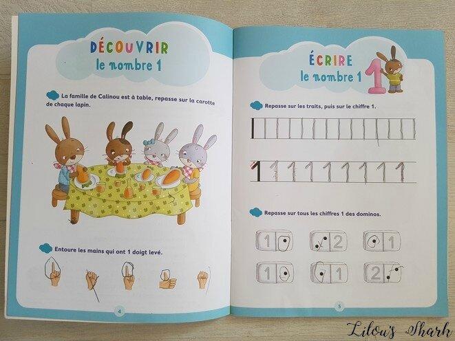 livre maternelle apprentissage nathan jecris les chiffres