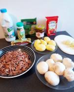 chez cathytutu tous en cuisine cyril lignac hachis parmentier canard confit maison pdt parmesan (5) - Copie