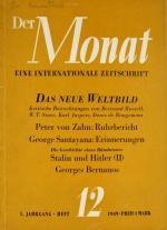 Melvin-J-Chefredakteur-Lasky+Der-Monat-Eine-Internationale-Zeitschrift-1-Jahrgang-Heft-12-aus-1949