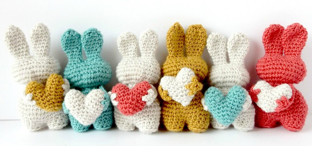 Amigurumi lapin tricot 1/3 / Miss Bunny amigurumi knit (english subtitles)  - YouTube | 468x1000