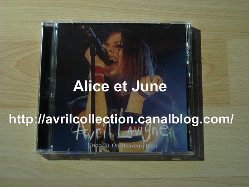 CD japonais Avril Lavigne-Knockin' On Heaven's Door
