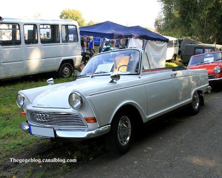 Auto union DKW F12 roadster de 1964 (30 ème Bourse d'échanges de Lipsheim) 01
