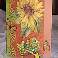 Carte fleur et jardinage