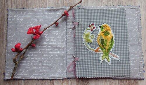 Carnet textile, page 1 (2)