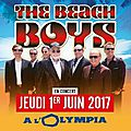 The beach boys seront en concert à l'olympia !