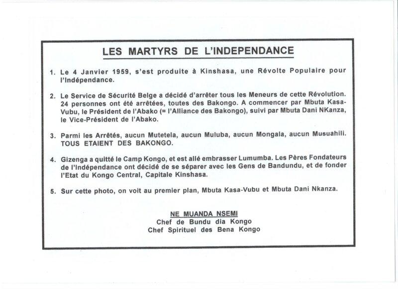 LES MARTYRS DE L'INDEPENDANCE b