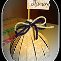 Bonbonnière de papier pour petits cadeaux