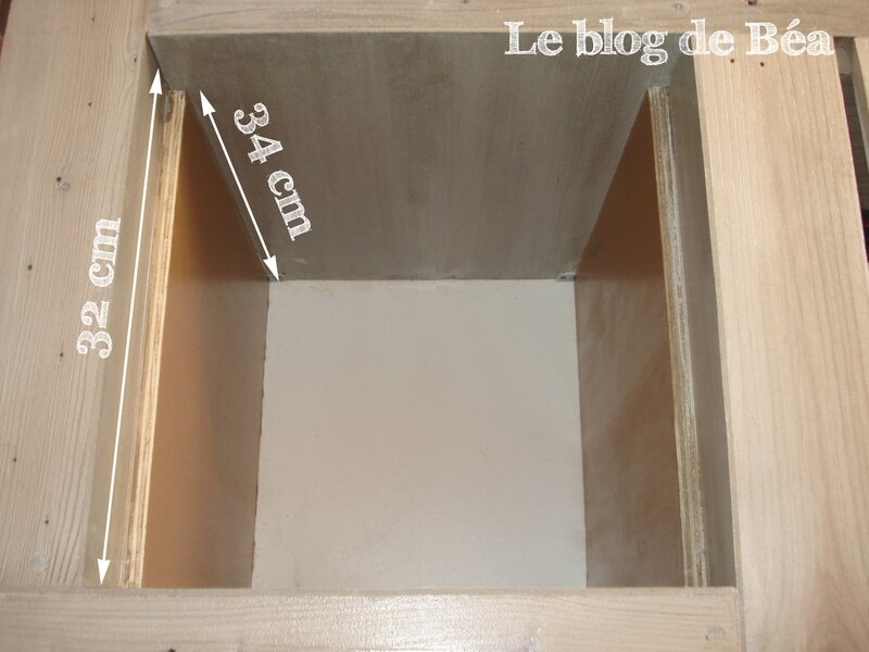 DIY table basse bar en bois de palette