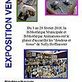 Exposition/vente - doudous et tissus à la bibliothèque