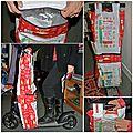 Un sac de courses pour trottinette