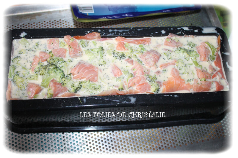 Bûche saumon brocoli 6