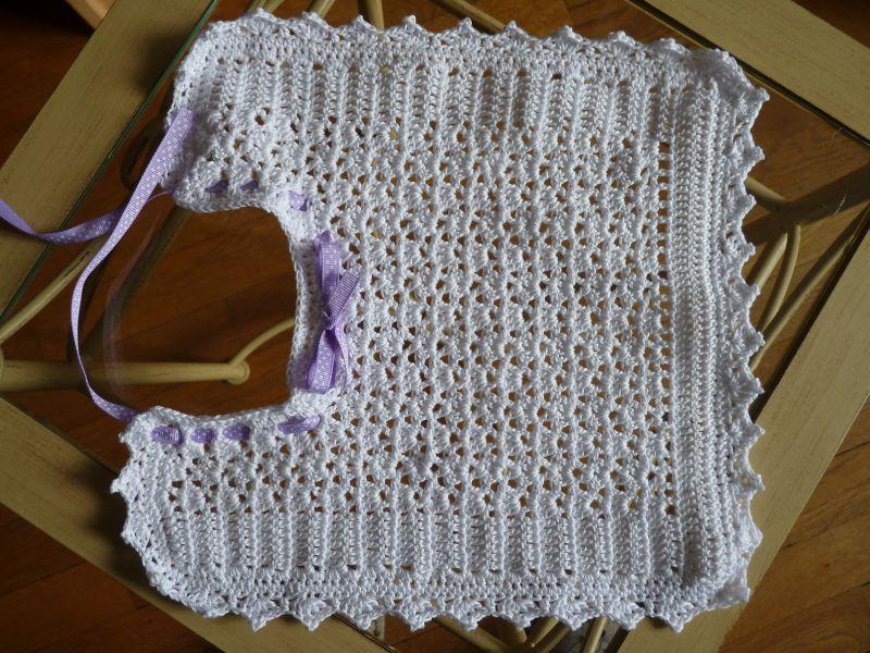 bavoir crochet