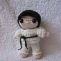 Test crochet - felton fait du karaté...