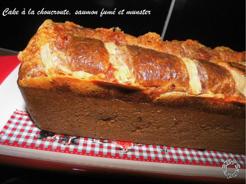 1009 Cake à la choucroute, au saumon fumé et munster 2