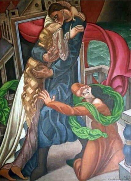 Tristan et Iseult par Louis Bouquet