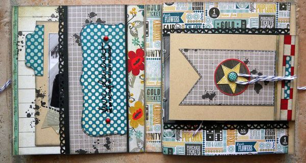 mini album Chronique scraplift Daude 1