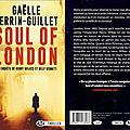 Soul of london- une enquête de henry wilkes et billy bennett - gaëlle perrin guillet