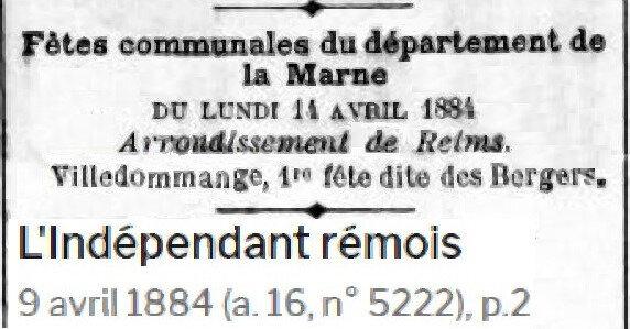 1884 FETE