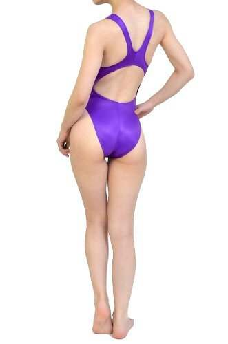 Maillot N-011 Purple Shiny UltraThin by Realise back 2
