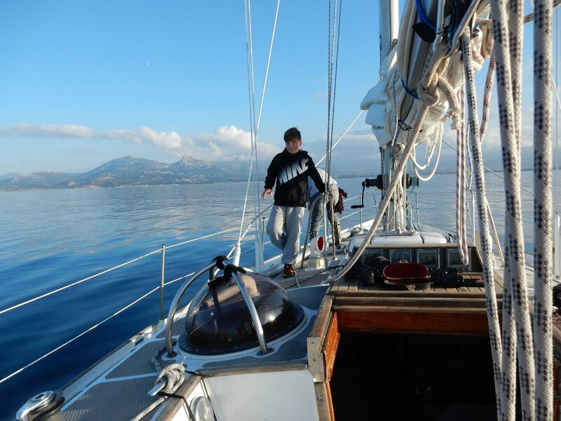 arrivée dans le golfe de Calvi 4 201215