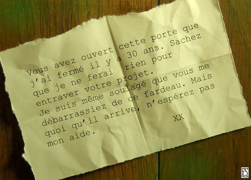 Message_porte