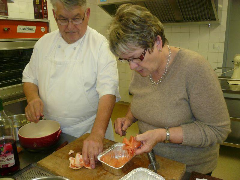 Anne-Marie et le Chef