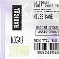 Miles kane - jeudi 4 octobre 2018 - la cigale (paris)