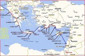 carte finale GR à ISR