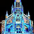 Biarritz, Biarritz en lumières 2016, église Sainte Eugénie, révélations