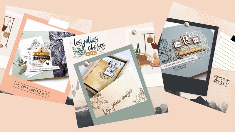 Le coffret créatif Les Jolies Choses de la vie : l'album de Flo