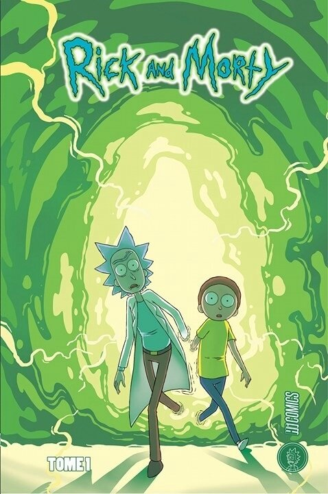 Hicomics Rick and Morty