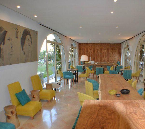 décor jaune vintage de philippe xerri