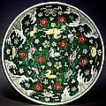 Plat à décor animalier, 17e siècle, règne de wanli (1573-1620)