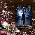 Service presse du boudoir ecarlate : kate daniels tome 3 : attaque magique (ilona andrews)