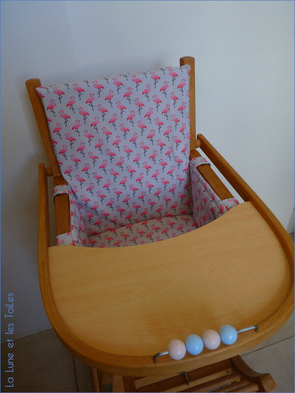 Coussin chaise haute 6