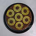 Cheesecake renversé à l'ananas et aux Spéculoos