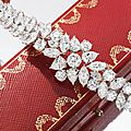 A fine diamond bracelet, by cartier