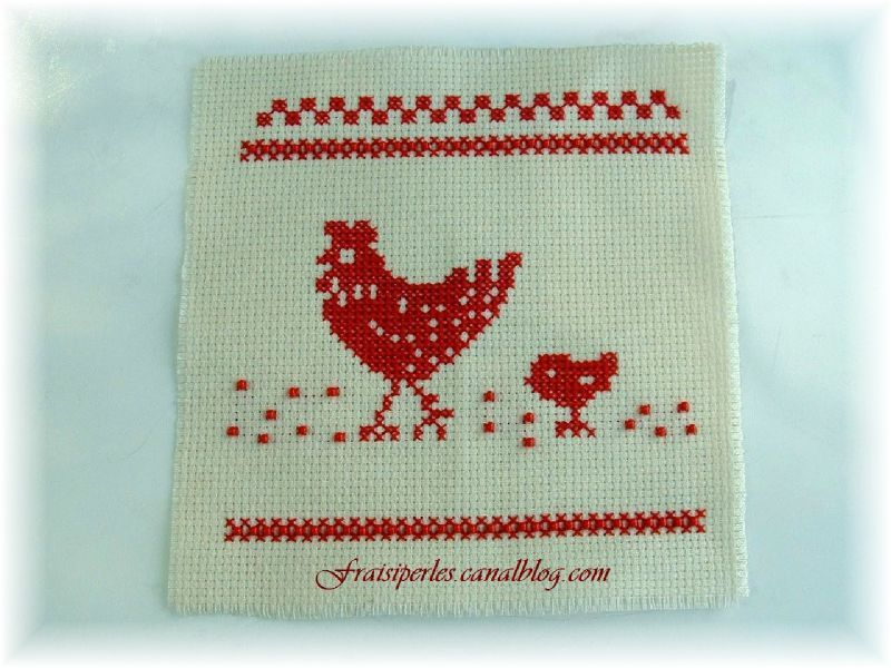 broderie poule1