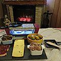 Raclette canard cèpes