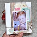 Mini album sagaposcrap